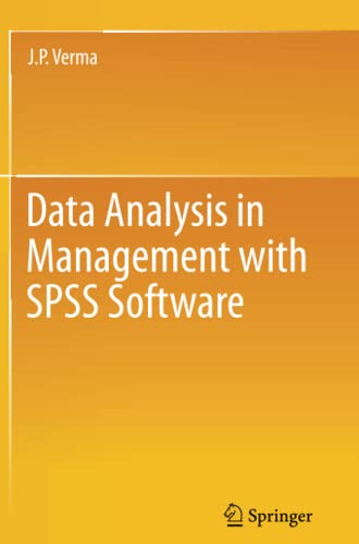 9788132217107: Data Analysis in Management with SPSS Software