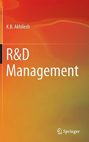 RandD Management: K. B. Akhilesh