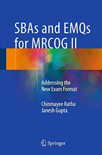 9788132226871: SBAs and EMQs for MRCOG II: Addressing the New Exam Format