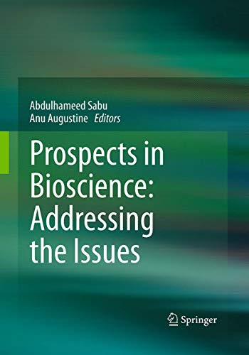 9788132228554: Prospects in Bioscience: Addressing the Issues