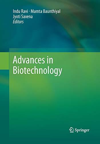 Advances in Biotechnology: Ravi, Indu (Editor)/