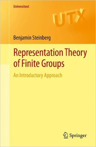 9788132231479: REPRESENTATION THEORY OF FINITE GROUPS: AN INTRODUCTORY APPROACH