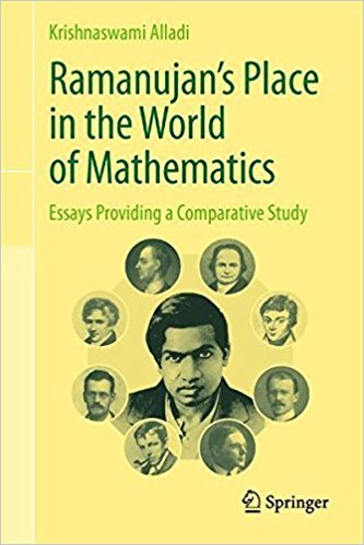 9788132231509: RAMANUJAN'S PLACE IN THE WORLD OF MATHEMATICS: ESSAYS PROVIDING A COMPARATIVE STUDY