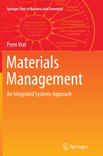 Materials Management: An Integrated Systems Approach (Paperback: Vrat, Prem