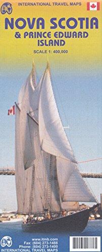 9788155341834: Nova Scotia with Prince Edward Island (Canada) Travel Map