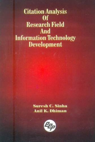 Citation Analysis of Research Field and Information: Dhiman Anil K.