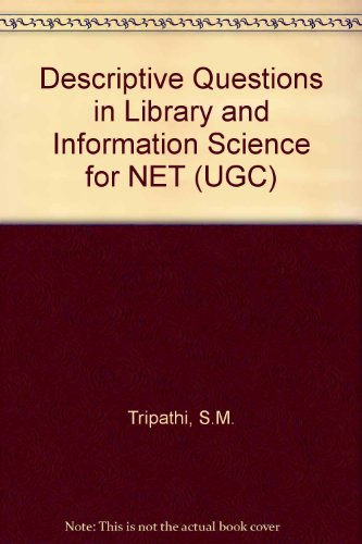 Descriptive Questions in Library and Information Science: K. Kumar C.
