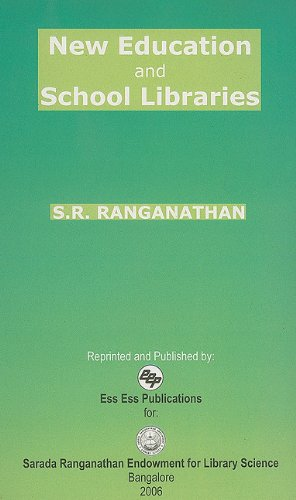New Education and School Library (Paperback): S R Ranganathan,