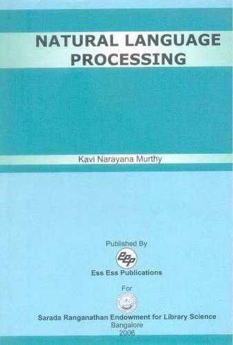 Natural Language Processing: Murthy kavi Narayana