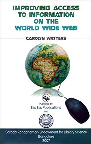 Improving Access to Information on the World Wide Web: Carolyn Watters