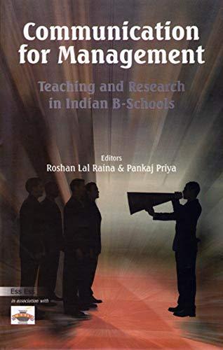 Communication for Management: Roshan Lal Raina & Pankaj Priya (Eds)