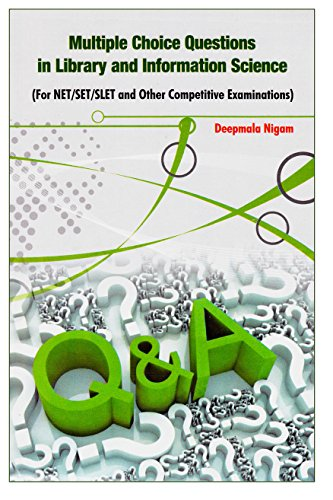 9788170007319: Multiple Choice Questions in Library and Information Science: For NET/SET/SLET and Other Competitive Examinations