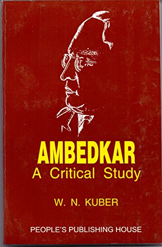 9788170071259: Ambedkar: A Critical Study