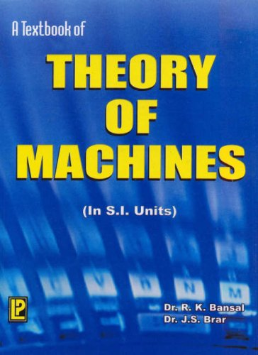 9788170084181: A Textbook of Theory of Machines
