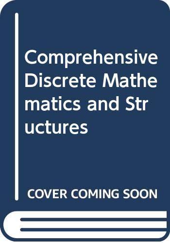 9788170086437: Comprehensive Discrete Mathematics and Structures