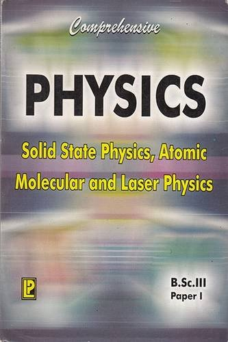 9788170086857: Comprehensive Physics: Solid State Physics, Atomic Molecular and Laser Physics Paper 1