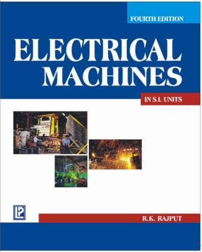 9788170088592: A Textbook of Electrical Machines