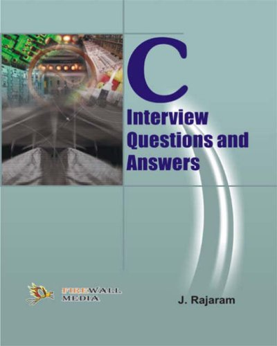 9788170088783: C Interview Questions and Answers