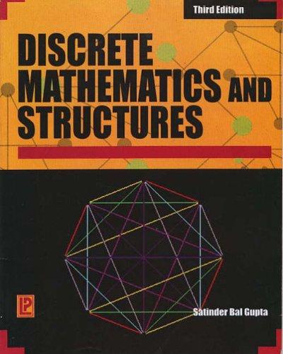 9788170089186: Comprehensive Discrete Mathematics and Structures