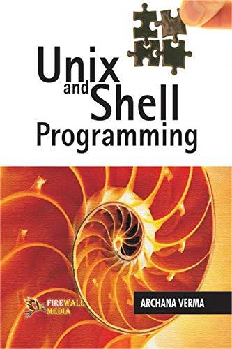 9788170089582: Unix and Shell Programming