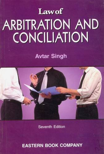 9788170128342: Law of Arbitration and Conciliation
