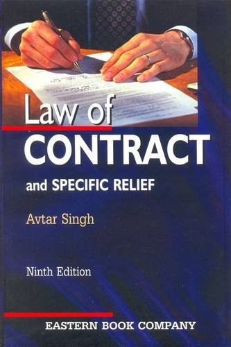 9788170128571: Law of Contract and Specific Relief