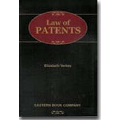 Law of Patents: Elizabeth Verkey