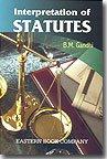 9788170128939: Interpretation of Statutes