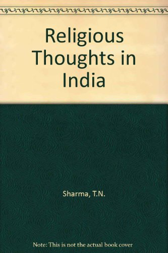 Religious Thought in India: T N Sharma