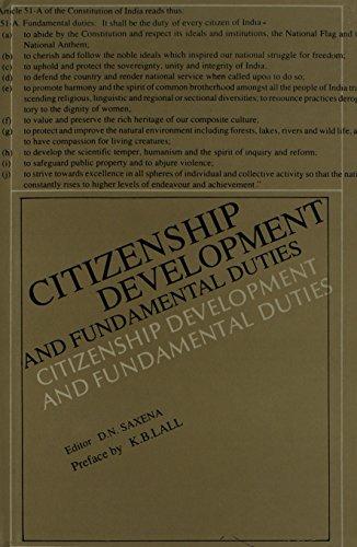 9788170172437: Citizenship Development and Fundamental Duties