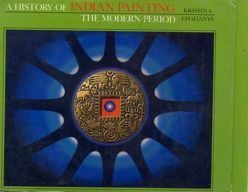 9788170173106: History of Indian Painting: The Modern Period