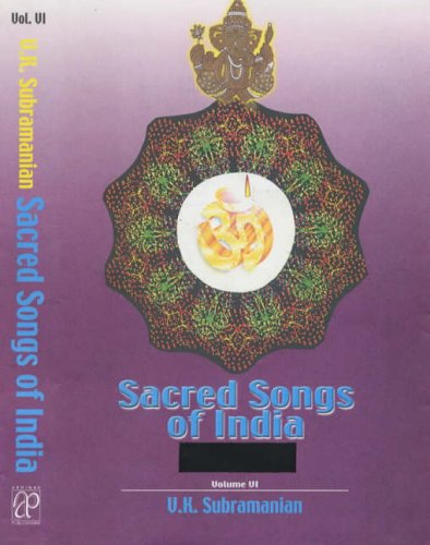 Sacred Songs of India, Vol. III: V.K. Subramanian