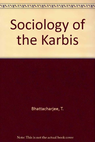 9788170183259: Sociology of the Karbis