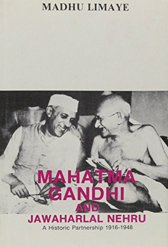 9788170185833: Mahatma Gandhi and Jawaharlal Nehru: A Historic Partnership (1916-1948, 1942-1946)