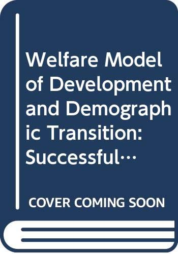 Purchase Books Similar To Welfare Model Of Development And Demographic Transition Successful ...