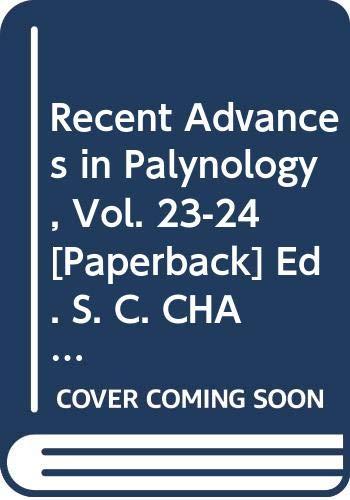 Recent Advances in Palynology, Thani Kaimani Memorial