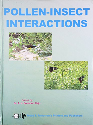 Pollen-Insect Interactions: Dr. A. J.
