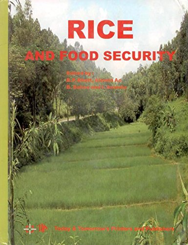 Rice and Food Security: edited by B.P.
