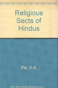 9788170200079: Religious Sects of Hindus