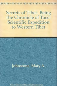 9788170207023: Secrets of Tibet: Being the Chronicle of Tucci Scientific Expedition to Western Tibet