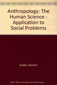 9788170207986: Anthropology: The Human Science - Application to Social Problems