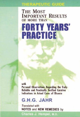9788170210054: Therapeutic Guide: Forty Years of Practice