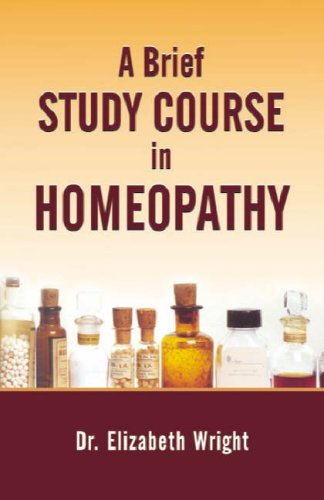 9788170210320: A Brief Study Course in Homoeopathy