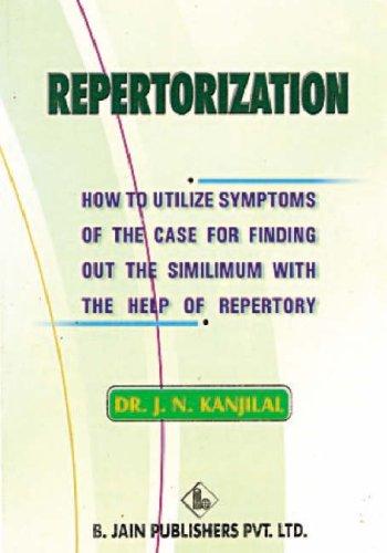 Repertorization: Kanjilal, J.N.