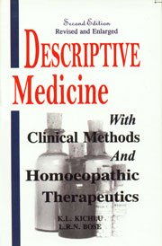 Descriptive Medicine with Clinical Methods and Homeopathic: Kitchlu, K.L.
