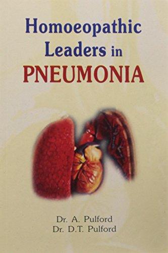 Homoeopathic Leaders in Pneumonia: Alfred Pulford