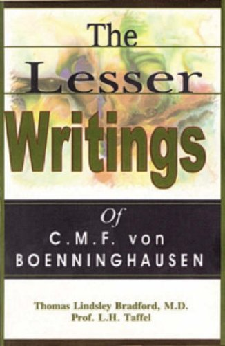 9788170213505: The Lesser Writings