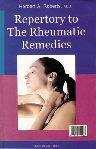 9788170214564: The Rheumatic Remedies