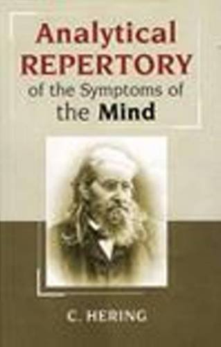 9788170215516: Analytical Repertory of the Symptoms of the Mind