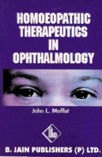 9788170216735: Homoeopathic Therapeutics in Ophthalmology